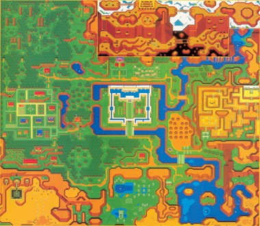 Link To The Past Light World Map.Multimedia Gallery Other Alttp Light World Map Revised