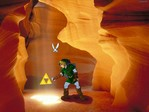 Link finds the Triforce.JPG