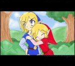 Four_Swords_Plus__Anime_Screencap___Red_and_Blue___HUGGLES!_____by___PrincessofTwilight72.png
